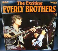 THE EXCITING EVERLY BROTHERS -  LP  1972 RCA CAMDEN CDS1136 UK ISSUE