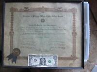 RARE VFW (Veterans of Foreign Wars) Member for Civil War Veteran, Chicopee, MASS
