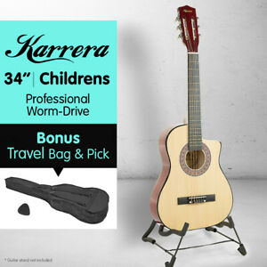 KARRERA NATURAL CHILDRENS ACOUSTIC GUITAR IDEAL KIDS GIFT 1/2 size