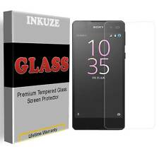 Tempered Glass Screen Protector Guard Saver For Sony Xperia E5