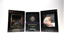 BVLGARI Man in Black, Man Black Cologne, Bvlgari Pour Homme Soir Sample Vials