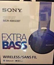 Sony XB650BT Extra Bass Bluetooth Headphones - Stereo, Wireless,Blu-tooth
