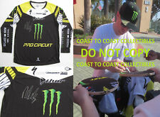 RYAN VILLOPOTO,SUPERCROSS,MOTOCROSS,SIGNED,AUTOGRAPHED,MONSTER JERSEY,WITH PROOF