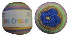 Ice Cream Yarn 200g 350m 100% Acrylic 8 ply like Caron Cake Pixie Garden