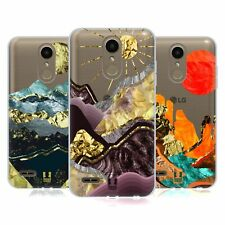 HEAD CASE DESIGNS GOLD LEAF LANDSCAPE ART SOFT GEL CASE FOR LG PHONES 1
