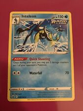 Inteleon Non Holo 043/198 Nm/M Chilling Reign Pokemon Card From Build and Battle