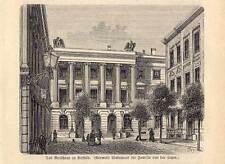 Krefeld-Municipio-legno chiave presso spamer 1882