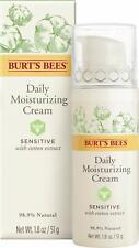 BURT'S BEES DAILY MOISTURIZING CREAM SENSITIVE 1.8 OZ NEW