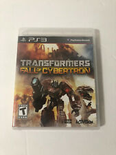Transformers: Fall of Cybertron Sony PlayStation 3 PS3 Complete Activision
