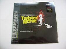 BERNARD HERRMANN - TWISTED NERVE - LP BLOOD SPLATTERED VINYL - BLACK COVER