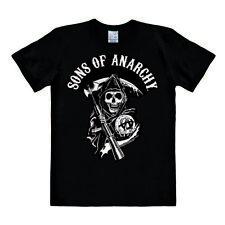 LOGOSHIRT - Sons of Anarchy - Logo - Easyfit - T-Shirt Herren - schwarz