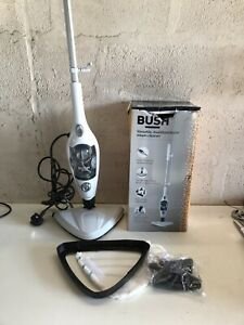 BUSH UPRIGHT AND HANDHELD STEAM CLEANER FULLY WORKING WITH BOX AND ACCESSORIES 1