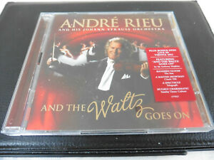 ANDRE RIEU AND HIS JOHANN STRAUSS ORCHESTRA - AND THE WALTZ GOES ON - CD+DVD