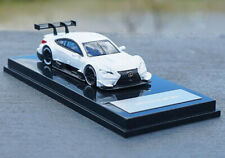 1/64 Alloy die casting Lexus RCF SUPER GT500 Rally car model white