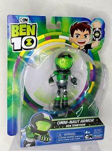 "Omni-Naut Armor BEN TENNYSON 4"" Inch Action Figure Ben 10 76149 Cartoon Network"