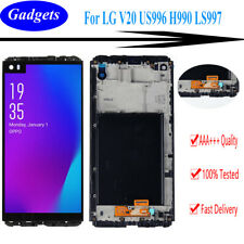 For LG V20 US996 H990 LS997 LCD Display Touch Screen Digitizer Replacement Frame