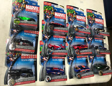12 Maisto Marvel Universe 1/63 Scale Die-Cast Car Collection Mixed Lot