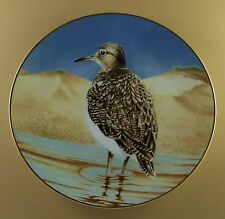 The Waterbird Plates Plate Sandpiper Eric Tenney