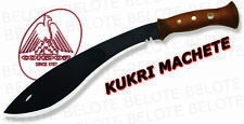 "Condor Tool & Knife 13"" Kukri Machete W Leather Sheath Carbon Steel CTK490-13HCS"