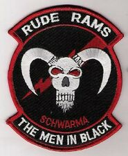 USAF LANTIRN F-16 34TH FS RUDE RAMS EMBROIDERED Iron-on PATCH