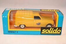 Solido 42 Renault 4 PTT Fourgonette Postes 1:43 perfect mint in box