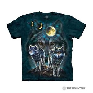 Mountain Adult T-shirt Northstar Wolves