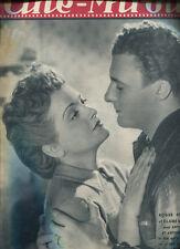 CINE-MIROIR N°861.ROGER PIGAUT. CLAIRE MAFFEI: ANTOINE ET ANTOINETTE. 1947.