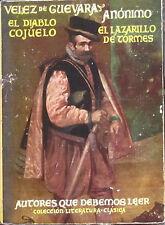 Novela El lazarillo de Tormes y el diablo cojuelo