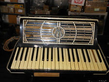 Vintage Wurlitzer Accordion 1940s - 1950s Needs work for parts or restoration