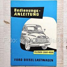 Ford LKW FK 2500-3500-4500 (1956) Bedienungs-Anleitung / Handbuch / Manual - TOP