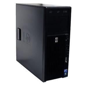 HP Z200 Tower Workstation Quad Xeon 2.93GHz 8GB 256GB SSD QUADRO 2000 1GB W10P