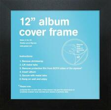 "LP Album Cover Schallplatten VINYL Rahmen 12"" inch 31,5 x 31,5cm Bilderrahmen"