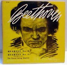Pascal String Quartet - Beethoven String Quartet No. 2 & 3 Vinyl LP Concert Hall