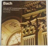 J.S. Bach Goldberg Variationen BWV 988 Hans Pischner Cembalo Eterna 826052