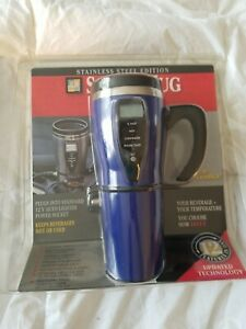 JLR Gear 12 Volt Digital Smart Travel Mug Stainless Steel Edition 12 Feature Mug
