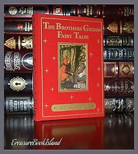 Brothers Grimm Fairy Tales Illustrated by Arthur Rackham New Deluxe Hardcover