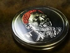 Dennis Rodman - 1 Troy Ounce .999 Silver Round Highland Mint Coin 5234 of 7500