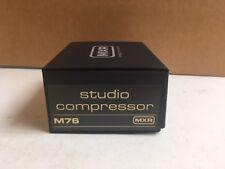 Dunlop MXR M76 Studio Compressor Effects Pedal