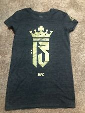 Women's Reebok Connor McGregor UFC TSHIRT M Gray