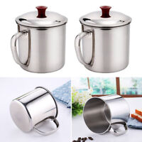 Stainless Steel Camping Mug Drinking Cup Practical Light Canteen Cup Household