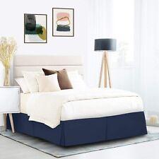 Luxury Premium Bed Skirt - 15 inch drop - Brushed Microfiber 12 Colors