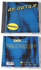SCHELLER Ab dafür .. Rare 1992 KMZ CD
