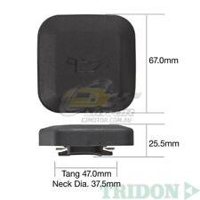 TRIDON OIL CAP FOR BMW 120d E87 05/06-06/11 4 2.0L M47 DOHC 16V TOC551