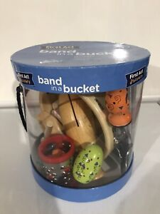 Band in a Bucket - First Act Discovery- 7 SEVEN Musical Instruments