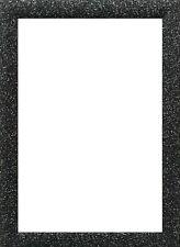 Black Dazzle Stardust Sparkle Glitter Picture Frame Photo Frame A1 A2 A3 A4