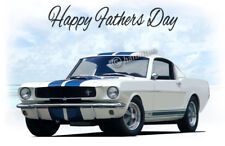 FORD Mustang Shelby GT350 1965 1966 Fastback Padri giorno CARD