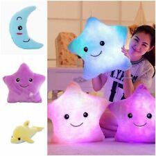 Luminous Pillow Glowing Plush Toy Star Cushion Led Light For Kids Children Girls