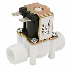 Aukson 12v G12 Nc Plastic Electrical Inlet Solenoid Water Valve For Water D