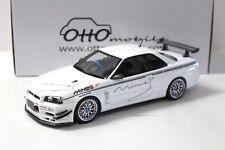 1:18 OTTO Nissan Skyline GT-R R34 Mine´s white NEW bei PREMIUM-MODELCARS