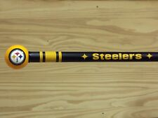Steelers walking cane featuring a Officially Licensed NFL Ball Handle